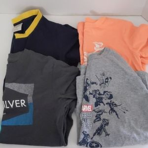 Boy's T-shirt Lot Quicksilver, Marvel, OhsKosh